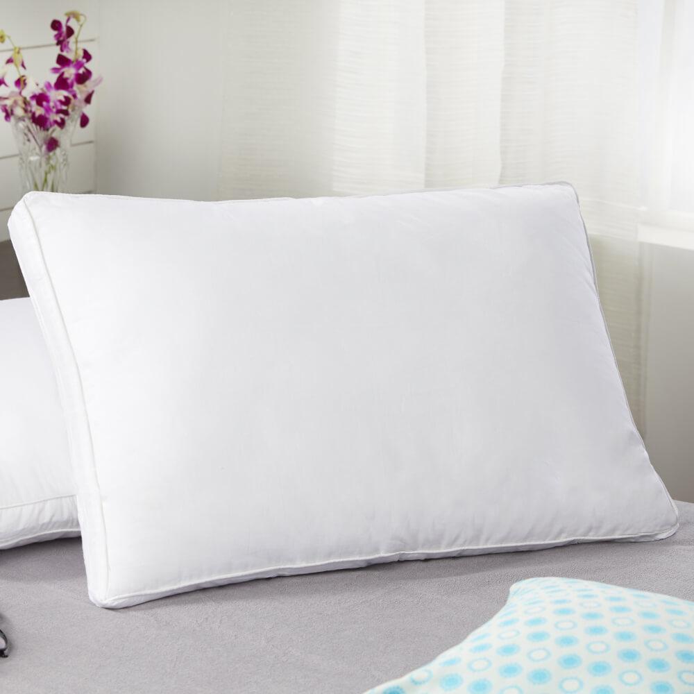 best jumbo luxurious cotton pillow online – lifestyle view
