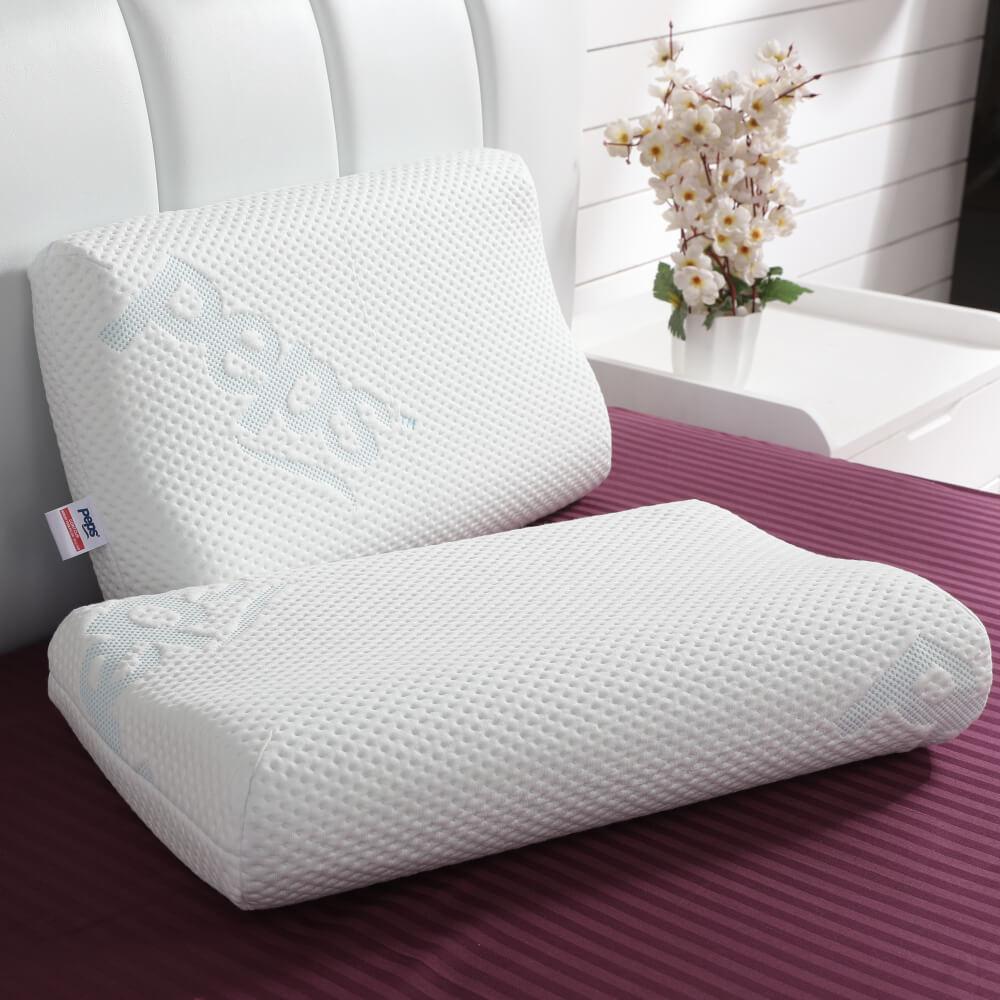 best contour memory foam pillow online – lifestyle view