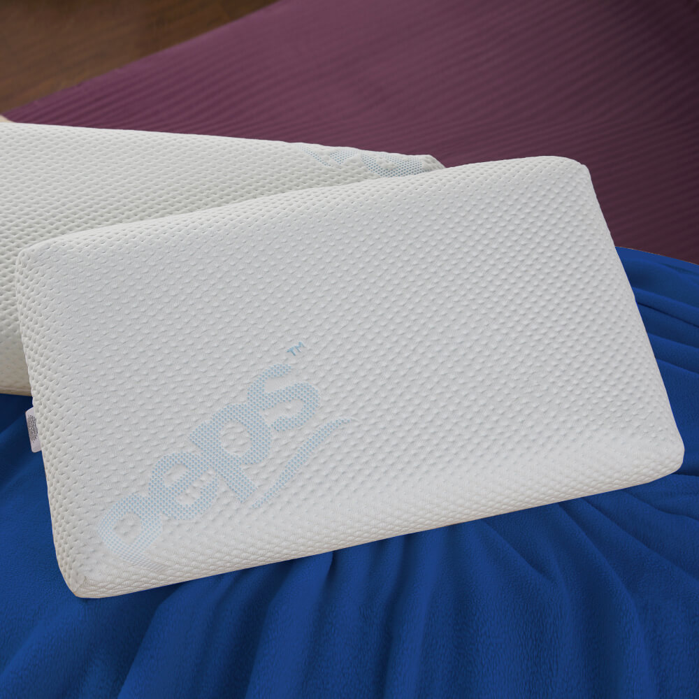 best moulded memory foam pillow online – lifestyle view