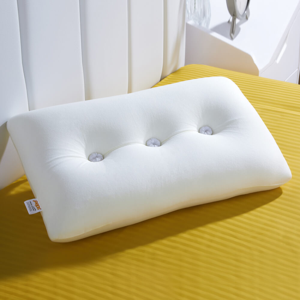 best tufted memory foam pillow online – lifestyle view