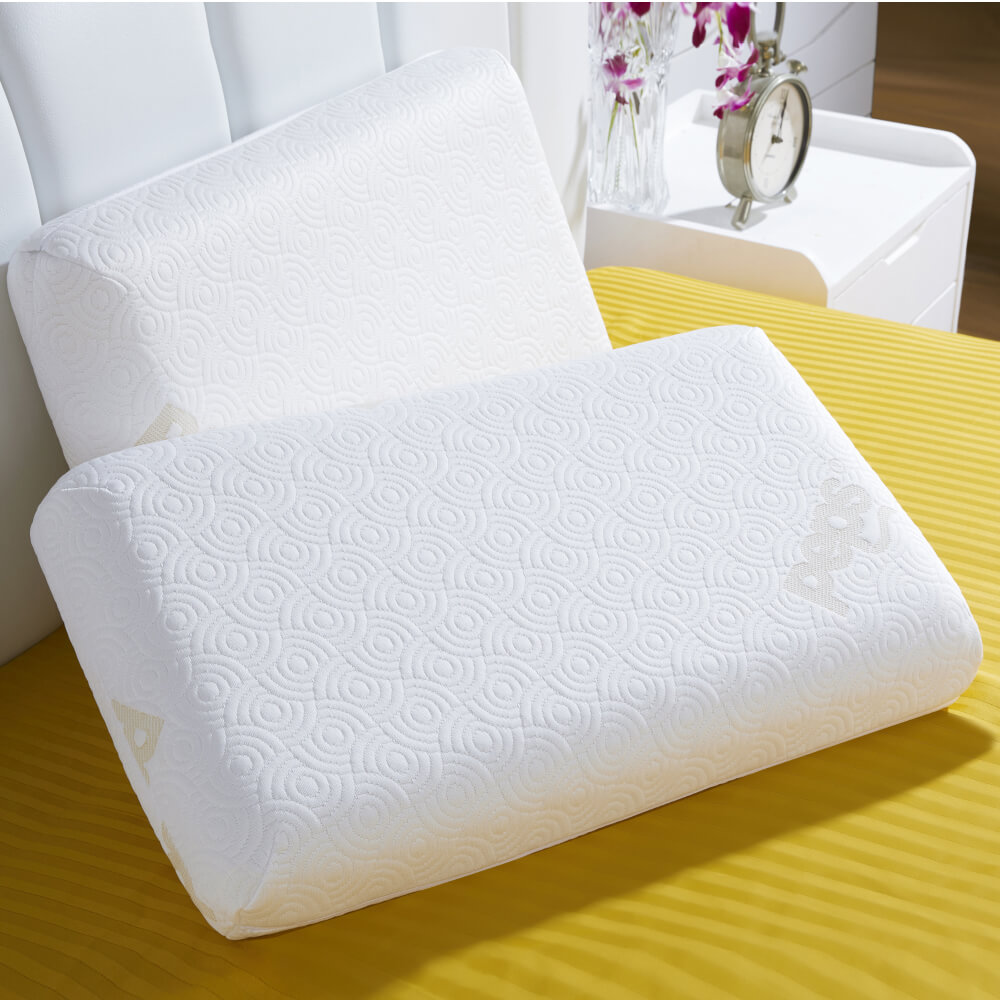 best PU moulded memory foam pillow online – lifestyle view